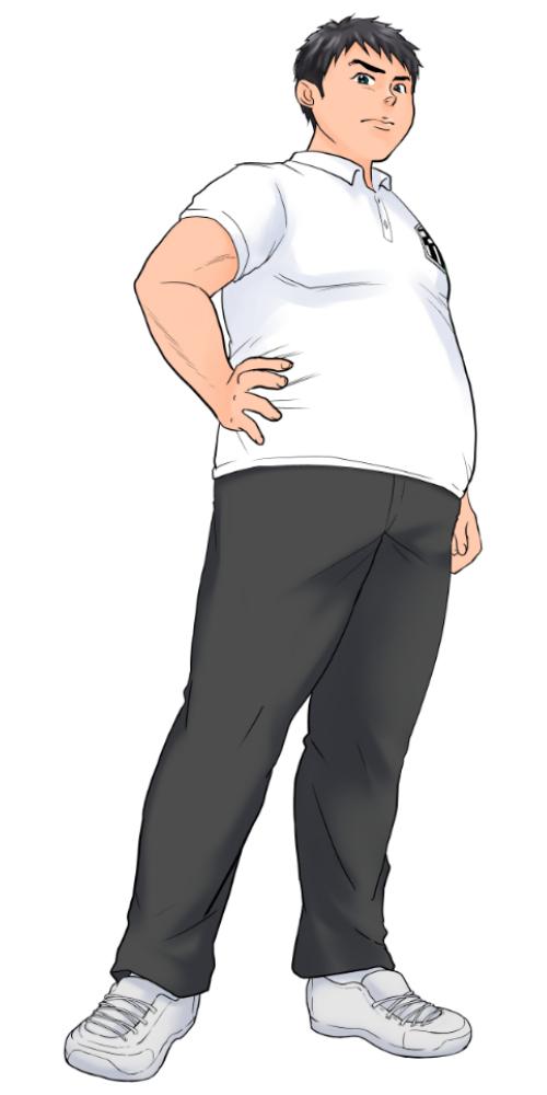 帝蘭高校の女子野球部キャプテン。男性とよく間違われるほど大柄な女子高生(全身)